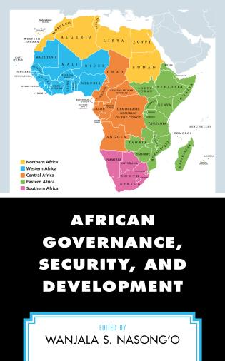 Cover image for the book African Governance, Security, and Development