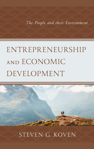 Cover image for the book Entrepreneurship and Economic Development: The People and their Environment