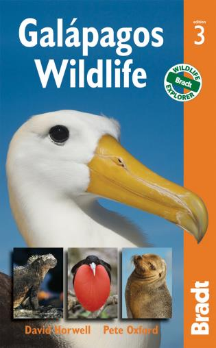 Cover image for the book Galapagos Wildlife, Third Edition