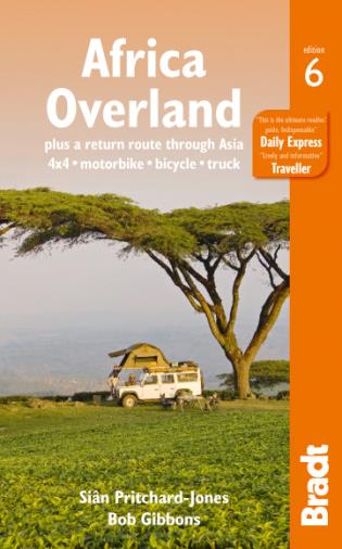 Cover image for the book Africa Overland, Sixth Edition