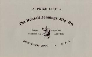 Cover image for the book Russell Jennings Manufacturing Company Trade Catalog, 1899