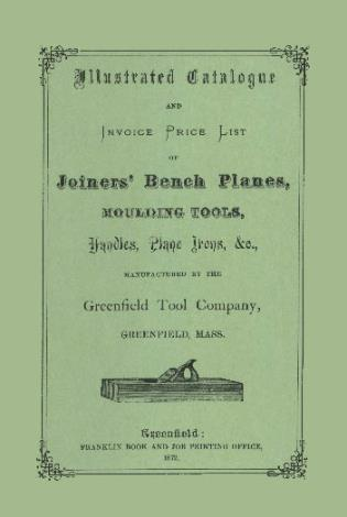 Cover image for the book Greenfield Tool Company: 1872 Illustrated Catalog