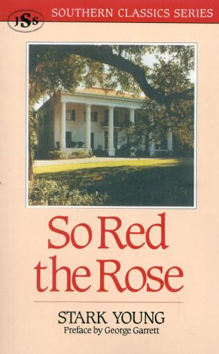 Cover image for the book So Red the Rose