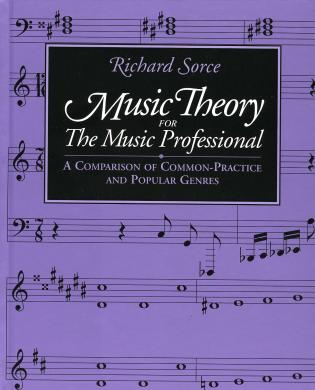 Cover image for the book Music Theory for the Music Professional