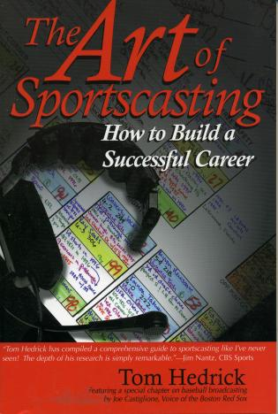 Cover image for the book The Art of Sportscasting: How to Build a Successful Career