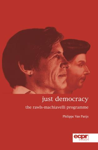 Cover image for the book Just Democracy: The Rawls-Machiavelli Programme