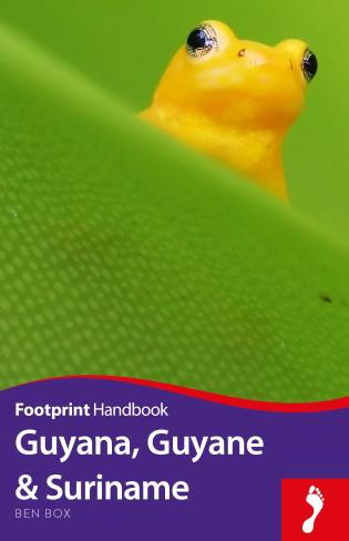 Cover image for the book Guyana, Guyane & Suriname, Second edition