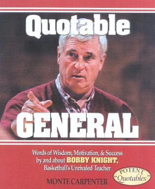 Cover image for the book Quotable General