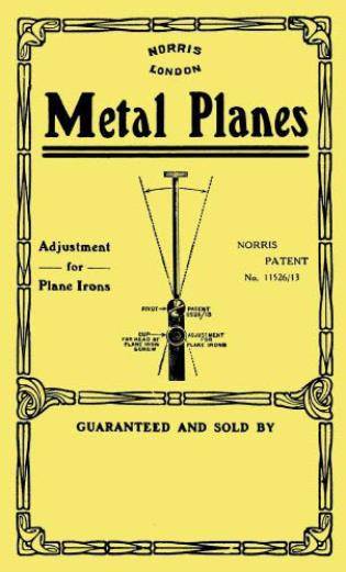 Cover image for the book Norris Metal Planes