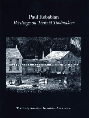 Cover image for the book Paul Kebabain: Writings on Tools & Toolmakers