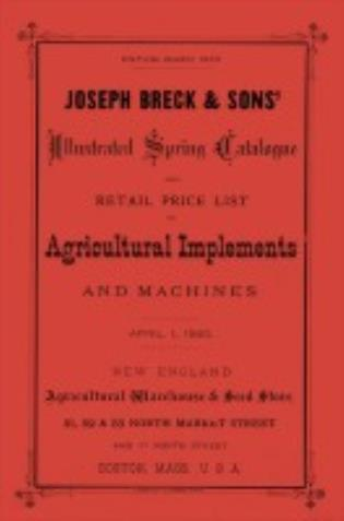 Cover image for the book Joseph Breck & Sons' 1880 Catalogue