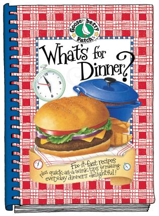 Cover image for the book What's For Dinner? Cookbook