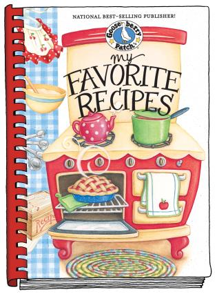 Cover image for the book My Favorite Recipes Cookbook