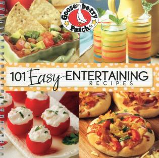 Cover image for the book 101 Easy Entertaining Recipes