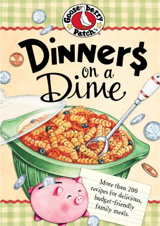 Cover image for the book Dinners On A Dime