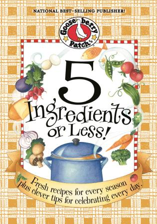 Cover image for the book 5 Ingredients Or Less