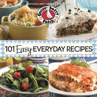 Cover image for the book 101 Easy Everyday Recipes