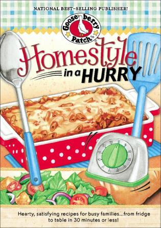 Cover image for the book Homestyle in a Hurry