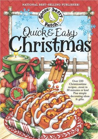 Cover image for the book Quick & Easy Christmas