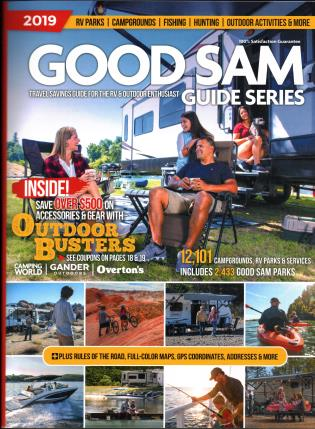 The 2019 Good Sam Travel Savings Guide for the RV & Outdoor Enthusiast