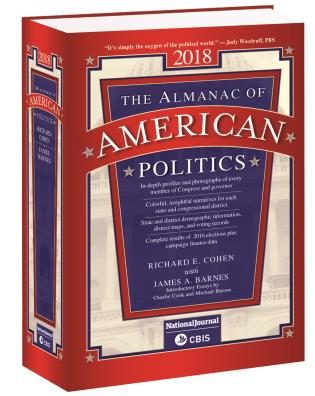 Cover image for the book Almanac of American Politics 2018