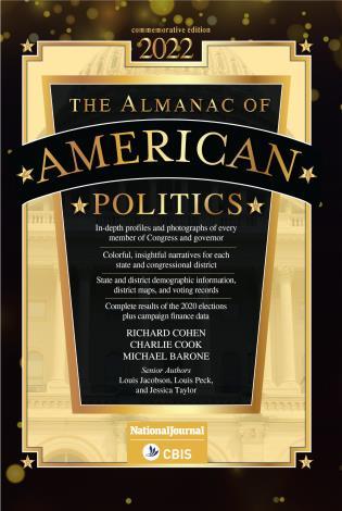 Cover image for the book Almanac of American Politics 2022