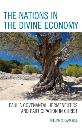 Cover image for the book The Nations in the Divine Economy: Paul's Covenantal Hermeneutics and Participation in Christ