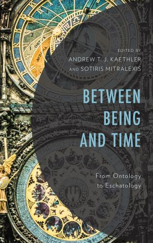 Cover image for the book Between Being and Time: From Ontology to Eschatology