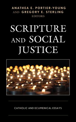 Cover image for the book Scripture and Social Justice: Catholic and Ecumenical Essays