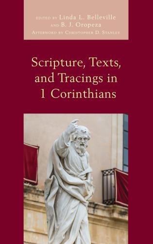 Cover image for the book Scripture, Texts, and Tracings in 1 Corinthians