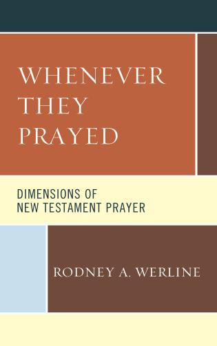 Cover Image of the book titled Whenever They Prayed