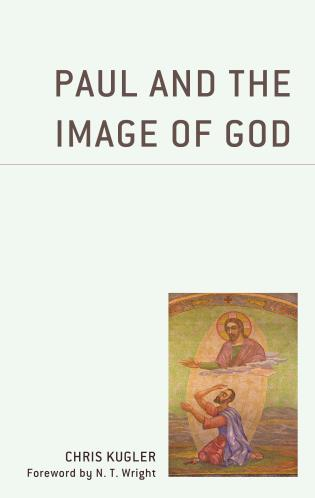 Cover image for the book Paul and the Image of God