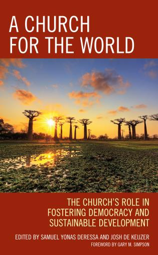 Cover image for the book A Church for the World: The Church's Role in Fostering Democracy and Sustainable Development