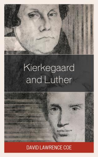 Cover image for the book Kierkegaard and Luther