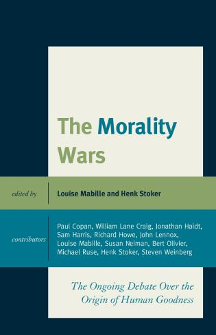 Cover image for the book The Morality Wars: The Ongoing Debate Over The Origin Of Human Goodness