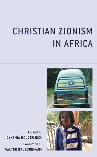 Cover image for the book Christian Zionism in Africa