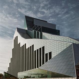 Gunnar Birkerts, National Library of Latvia, Riga
