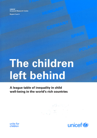 No Inequality Left Behind >> The Children Left Behind A League Table Of Inequality In Child Well