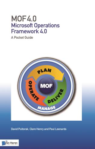Cover image for the book MOF (Microsoft Operations Framework): A Pocket Guide: V 4.0 (2008)