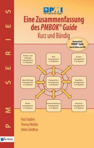 Cover image for the book Eine Zusammenfassung Des Pmbok Guide - Kurz Und Bundig