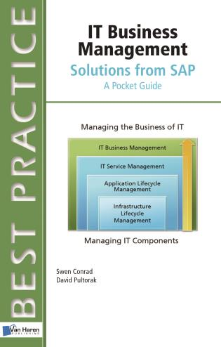 Cover image for the book IT Business Management Solutions From SAP