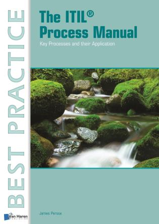 Cover image for the book The ITIL Process Manual