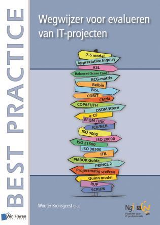 Cover image for the book Wegwijzer Voor Evalueren Van It-Projecten