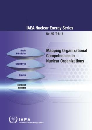 Cover image for the book Mapping Organizational Competencies in Nuclear Organizations: IAEA Nuclear Energy Series No. NG-T-6.14