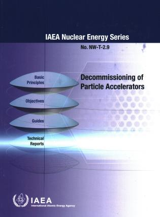 Cover image for the book Decommissioning of Particle Accelerators