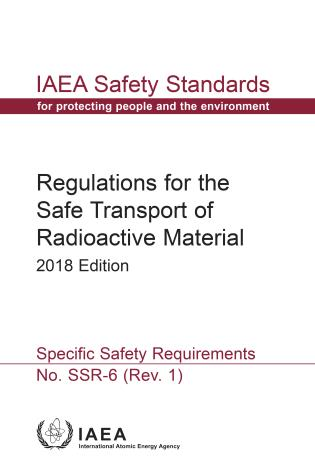 Cover image for the book Regulations for the Safe Transport of Radioactive Material, 2018 Edition