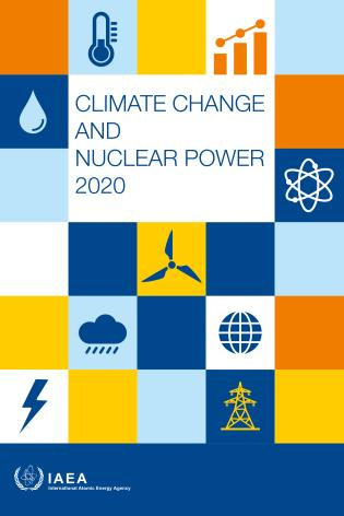 Cover image for the book Climate Change and Nuclear Power 2020