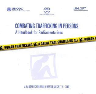 Cover image for the book Combatting Trafficking in Persons: A Handbook for Parliamentarians