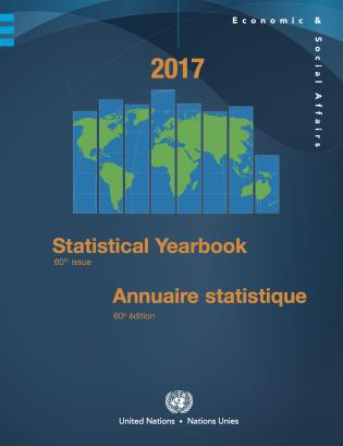 Cover image for the book Statistical Yearbook 2017: Sixtieth Issue