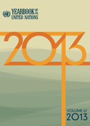 Cover image for the book Yearbook of the United Nations 2013, Volume 66